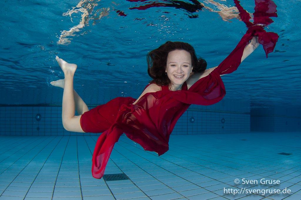 Unterwasser Fotoshooting Unterwasserfoto