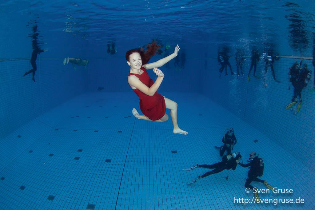 Unterwasserfotografie Pool