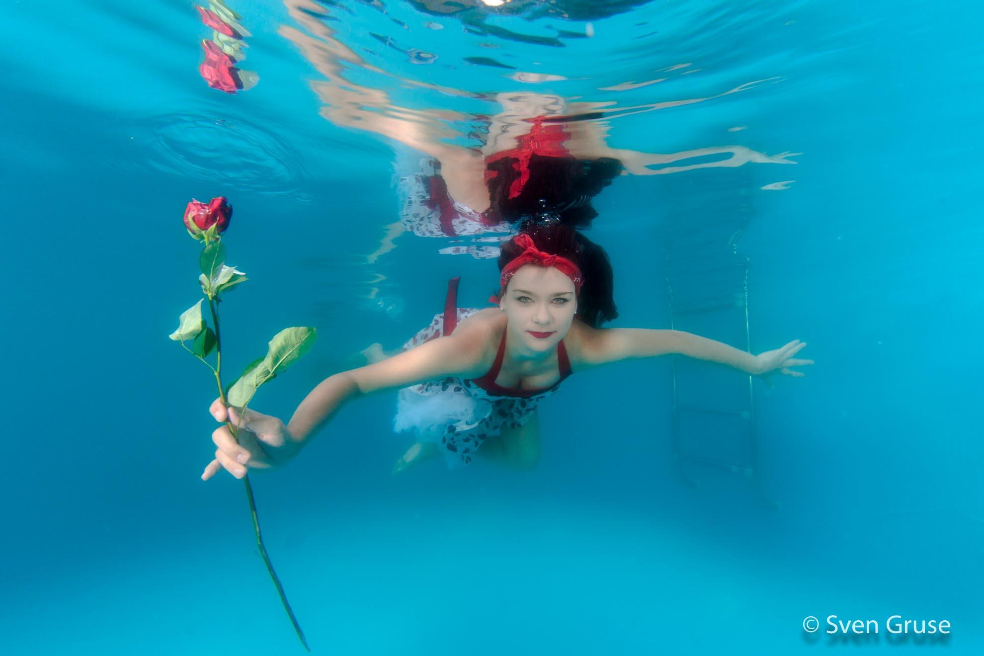 Fashion Unterwasserfoto