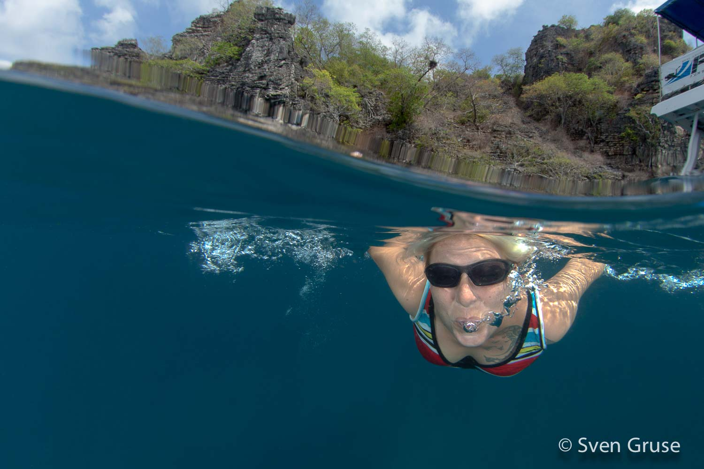 Unterwasserfoto Apnoe